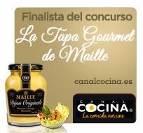 Feliz 2014 y mi experiencia en Canal Cocina con mi tapa @MonteRegio1 con maille