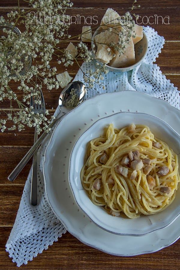 autentica receta espagueti carbonara