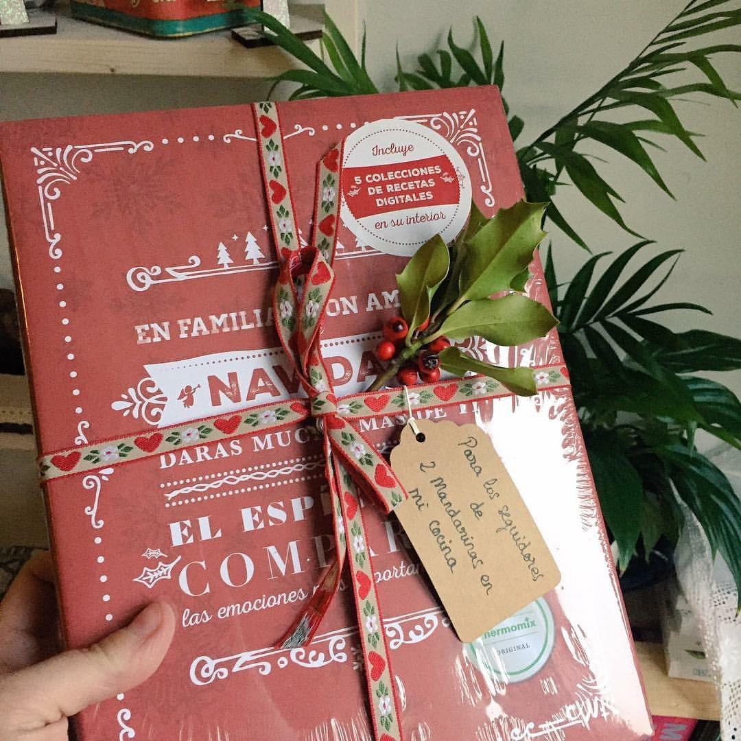 libro de recetas e ideas de navidad thermomix