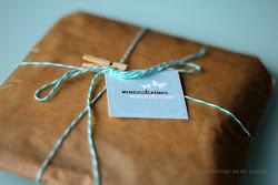 paquete de regalo