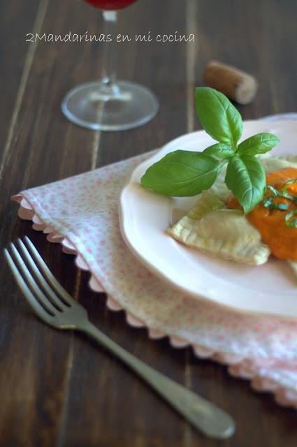 ravioli rellenos pasta fresca