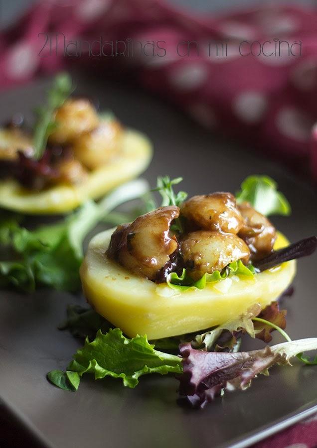 Patatas al vapor con aliño de tomate - Blog de Recetas de Cocina ...