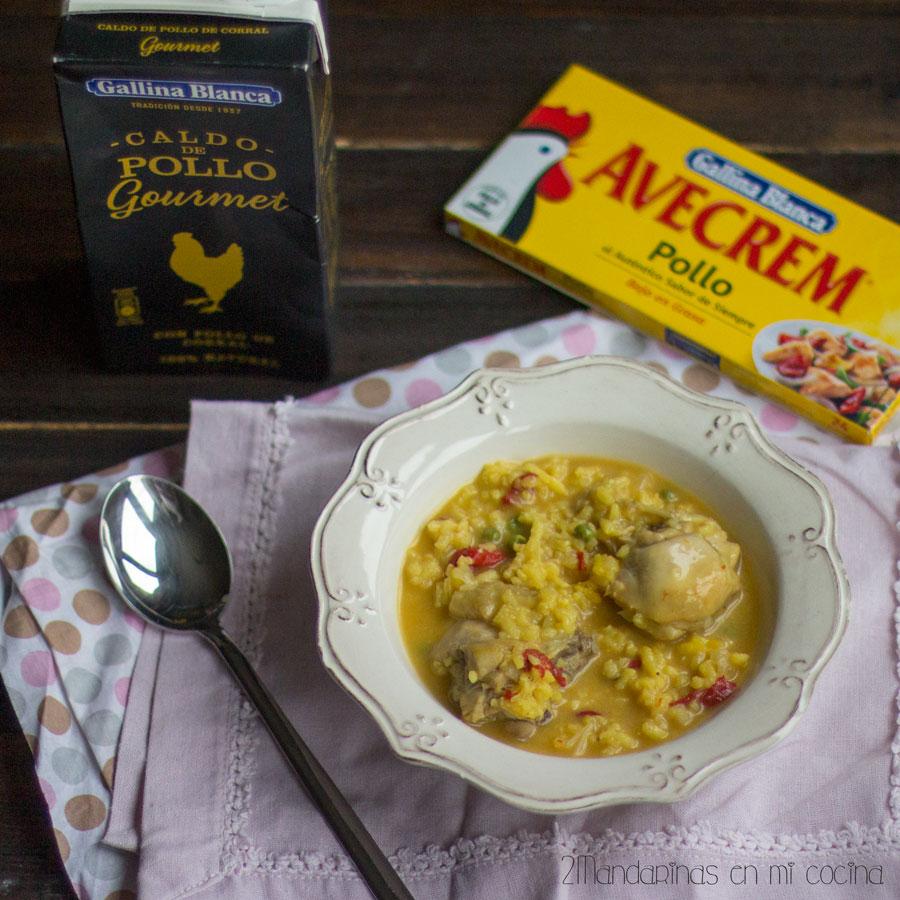 arroz con pollo arroz caldoso