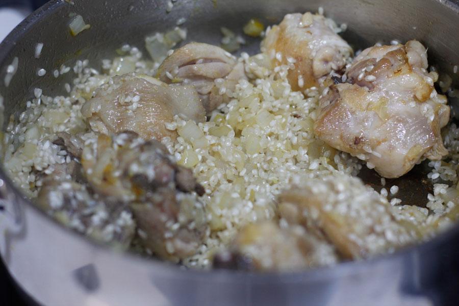 arroz con pollo arroz caldoso paso a paso