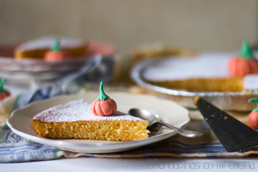Cómo preparar tarta de calabaza y naranja #AlbalWorkshop