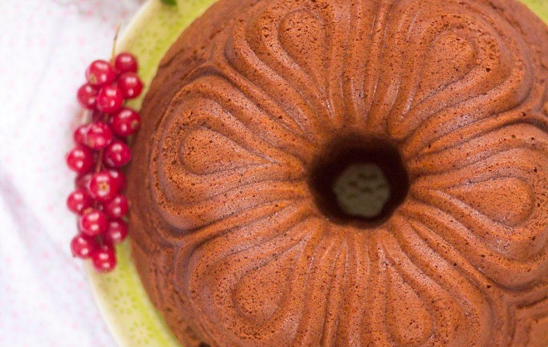 Bundt cake de chocolate y coñac
