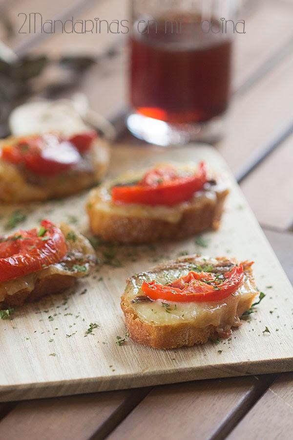 Canap s calientes con mozzarella blog de recetas de for Mozzarella canape