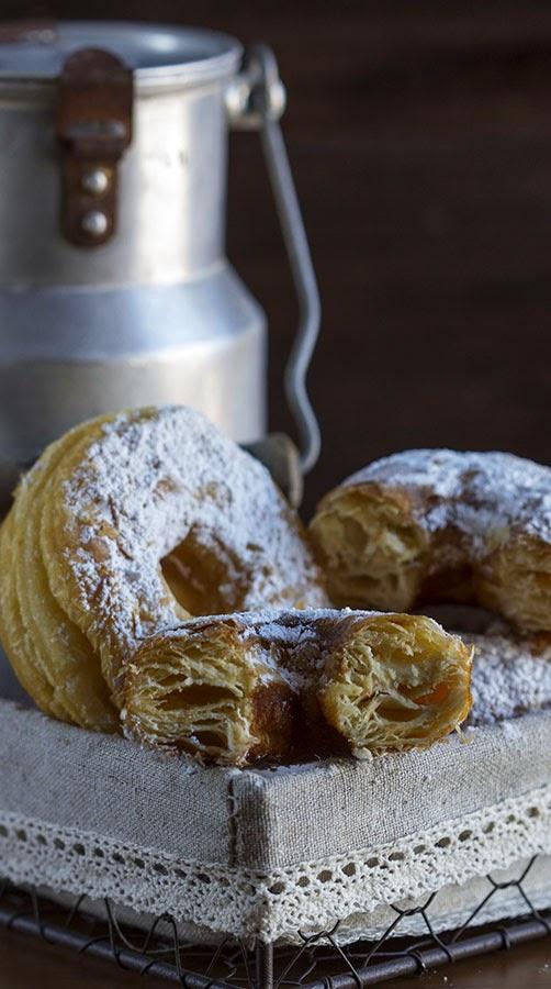 cronuts caseros receta