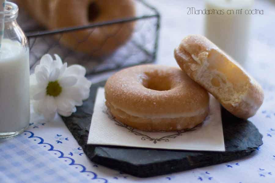 donuts azúcar donuts caseros