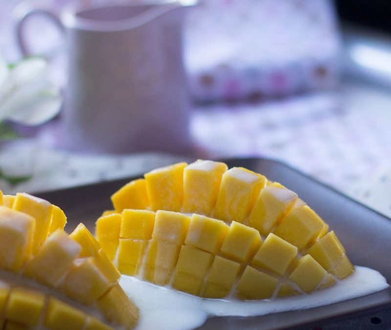 Receta de erizos de mango de Ferran Adriá
