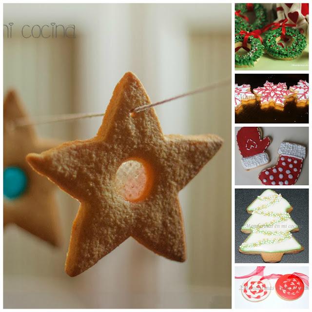 Ideas para hacer galletas de Navidad con niños