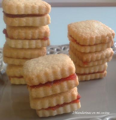 Pastas de membrillo. Casi, casi como las de Santa Teresa