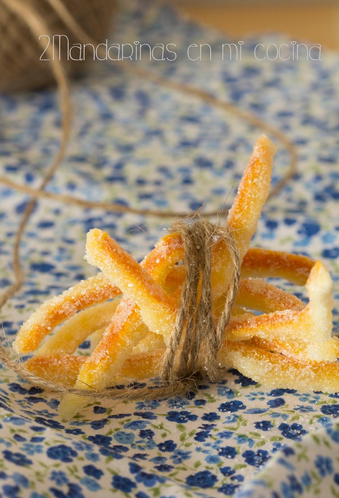 Cómo Preparar Piel De Naranja Confitada Con Thermomix 2 Mandarinas En Mi Cocina Blog De Recetas De Cocina Carnes Pescados Y Postres