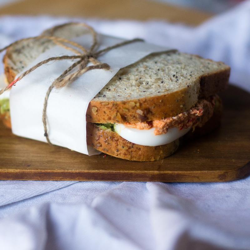 receta de sandwich de verano