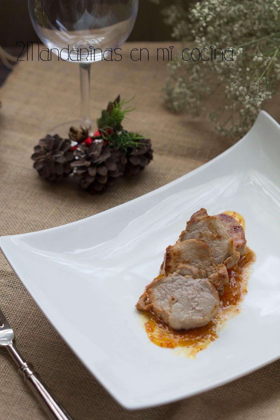 Solomillo de cerdo con salsa dulce de madroño.Las recetas más especiales para ésta Navidad tienen premio!