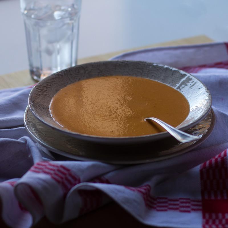 receta griega con thermomix de sopa de yogur y tomate