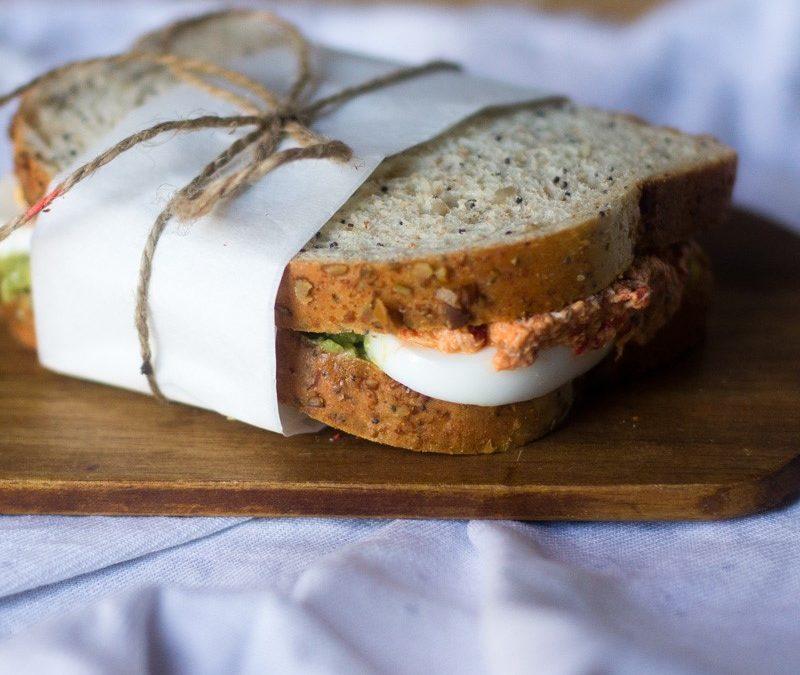 Sandwich de verano con Thermomix