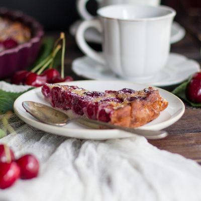 Cafloutis de cereza