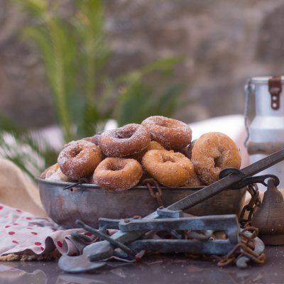 Rosquillas portugalujas. Recetas de Conventos y Monasterios