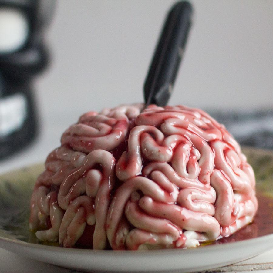 Tarta Cerebro Para Halloween 2 Mandarinas En Mi Cocina Blog De