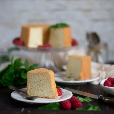 Angel food cake. Receta paso a paso
