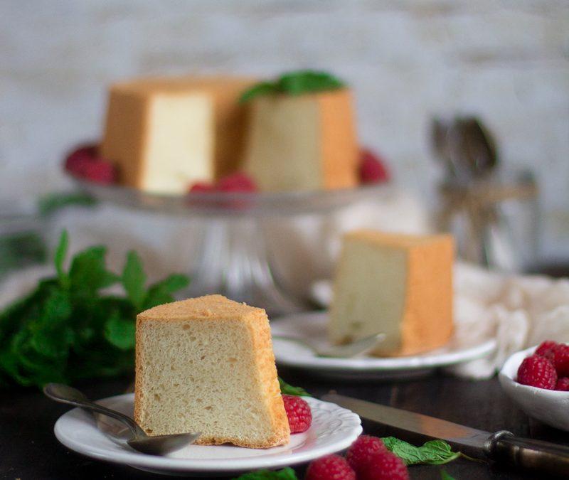 Angel food cake. Receta paso a paso
