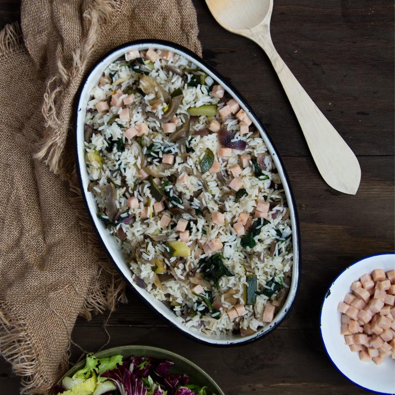 receta fácil de arroz con verduras con thermomix
