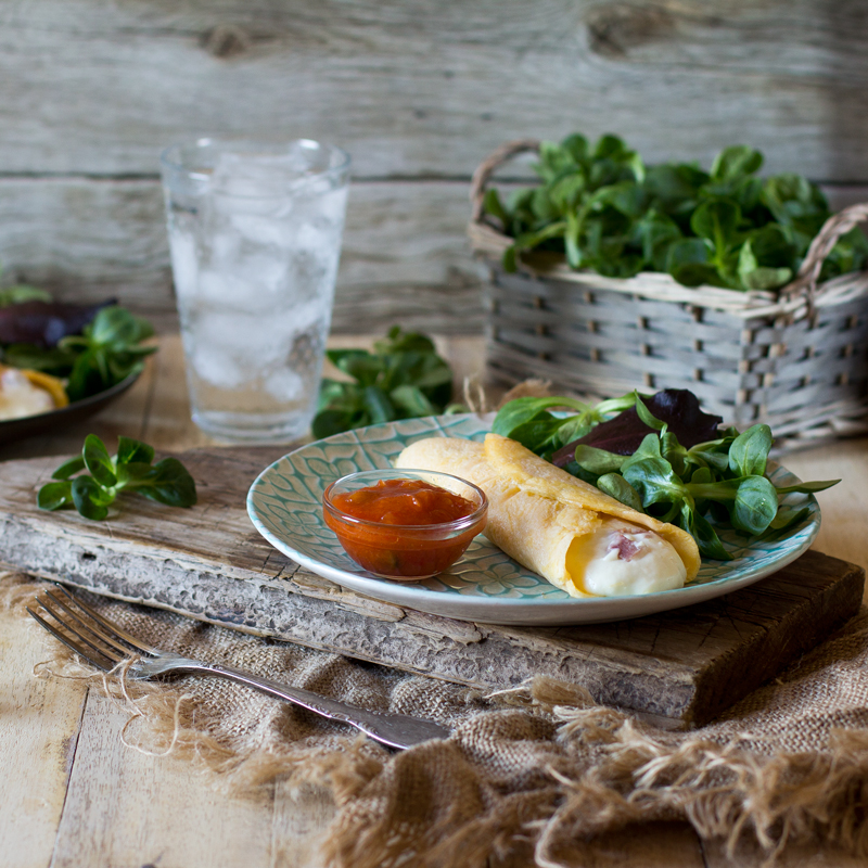 tortilla de bechamel