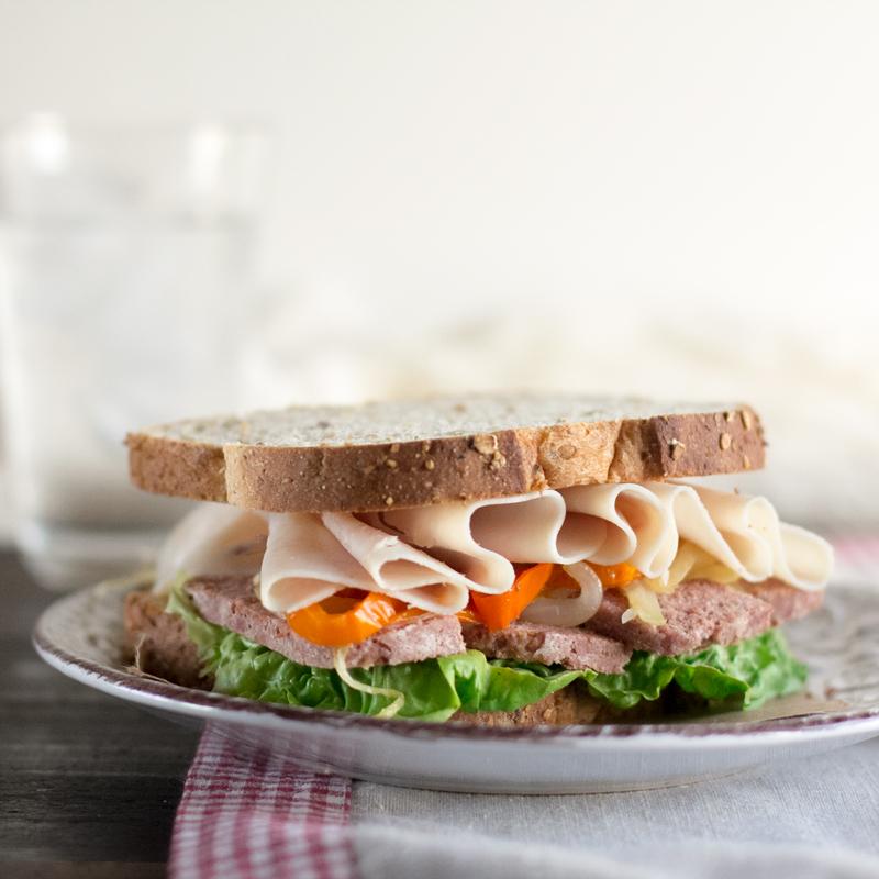 sandwich de corned beef