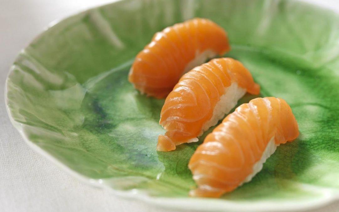 Salmón noruego y sushi, matrimonio perfecto